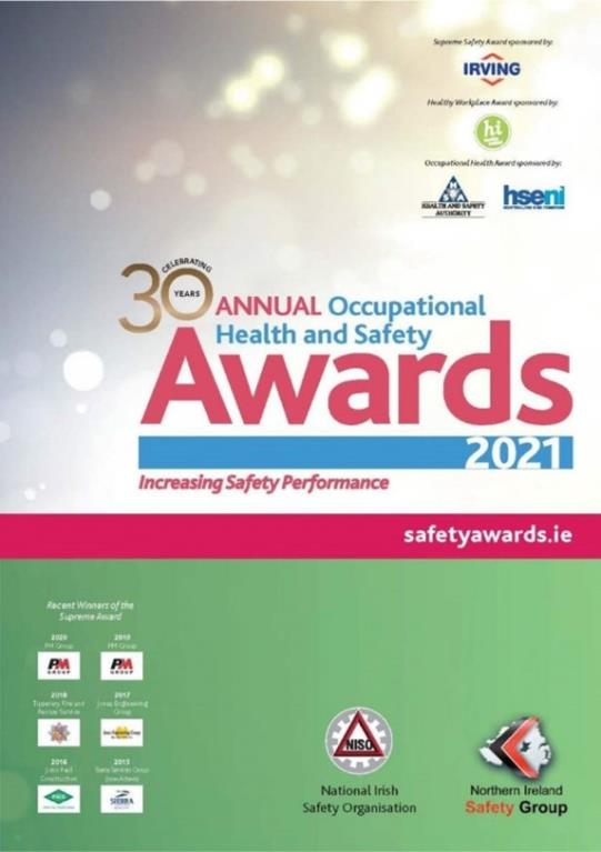 NISO / NISG 30th Annual Occupational Health and Safety Awards 2021 Workshop