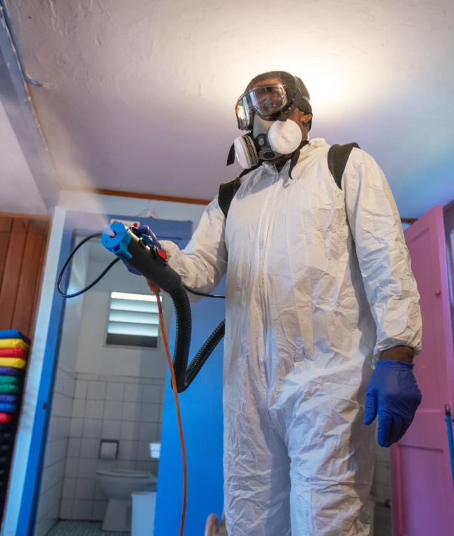 Disinfecting using fog, mist and other systems during the coronavirus (COVID-19) pandemic