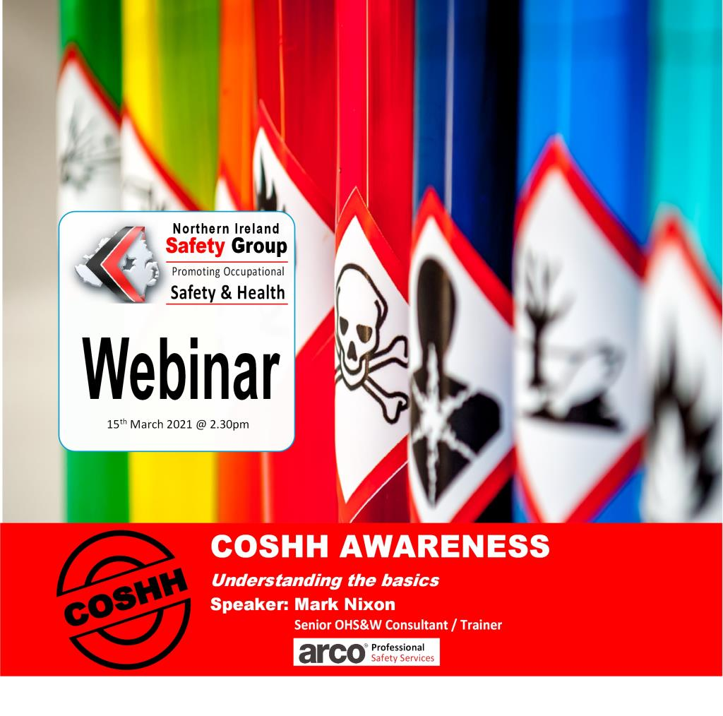 Webinar: COSHH AWARENESS/Understanding the basics