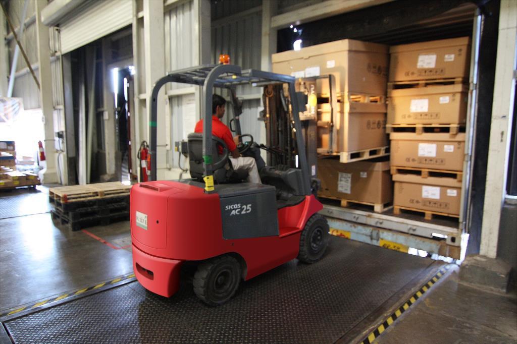 Safety focus on forklift trucks (HSENI press release)