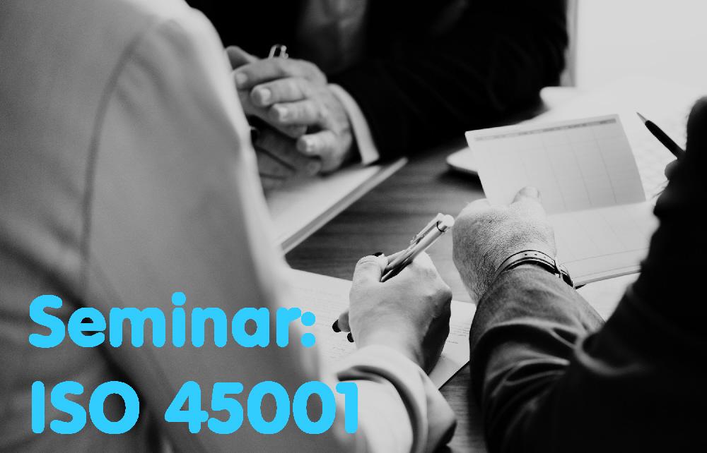 ISO 45001 Seminar - Omagh