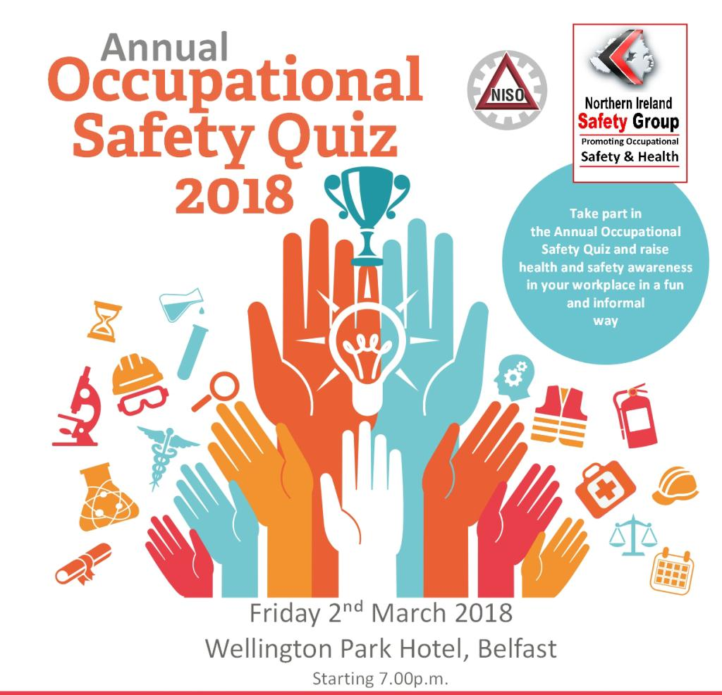 Annual Safety Quiz - POSTPONED UNTIL FRIDAY 9/3/18
