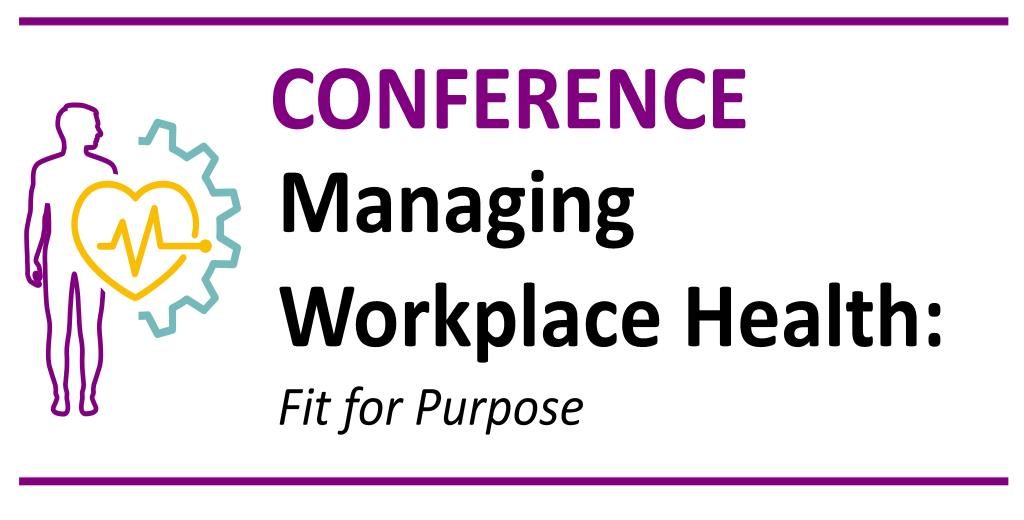 Workplace Health Leadership Group NI 20th/21st November 2019